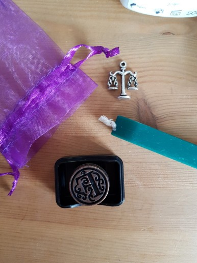 Sealing Wax and Stamp. How did you know?