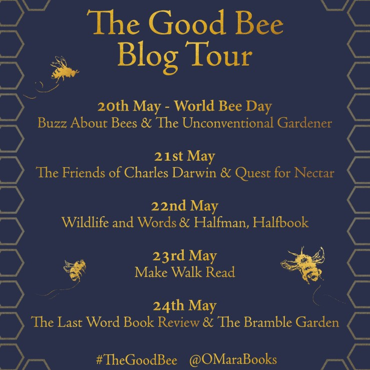 The Good Bee Blog Tour Card
